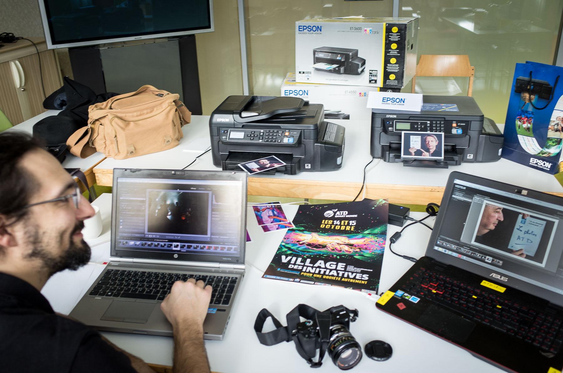 Préparatifs avec les imprimantes Epson - JCE