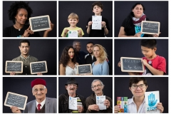 Exemple de portraits - Montage JCE
