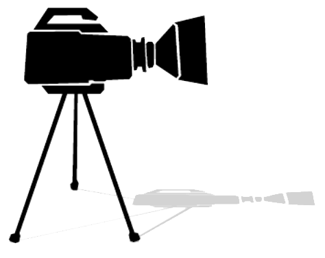 Camera sur trepied